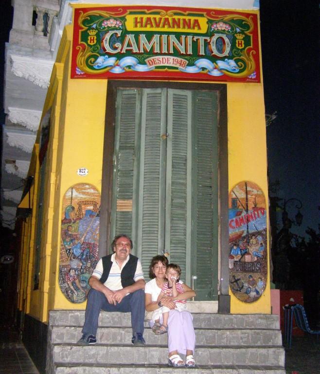 EL CAMINITO (io, Cri e Galo)