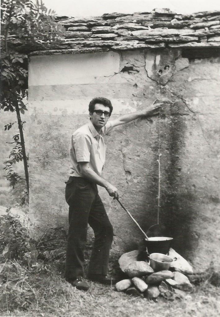 SETTEMBRE 1965 - Polenta in montagna