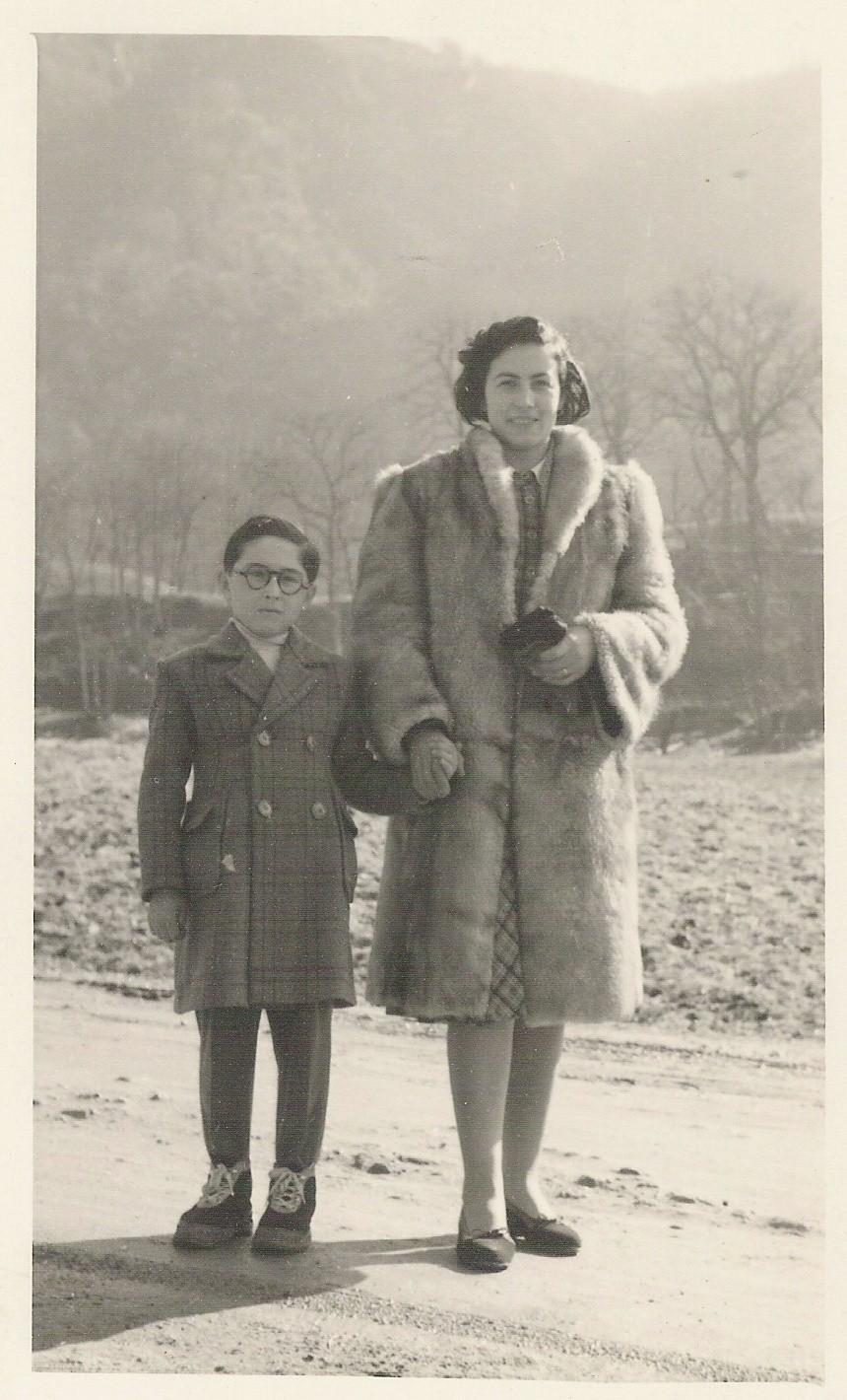 1950 - con mia mamma