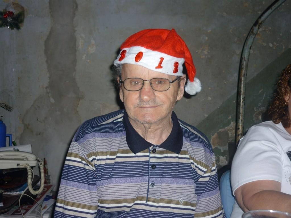 24.12.2011 - Cena della vigilia di Natale - Noche Buena - Christmas Eve = Tio Alberto
