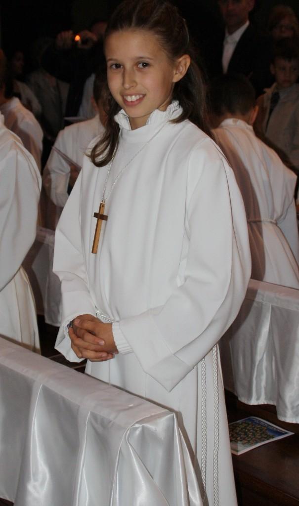 Giulia in chiesa - Julia en la iglesia - Giulia in church