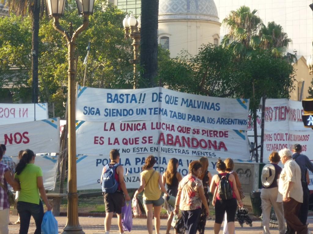 22.01.2012 - Plaza de Mayo