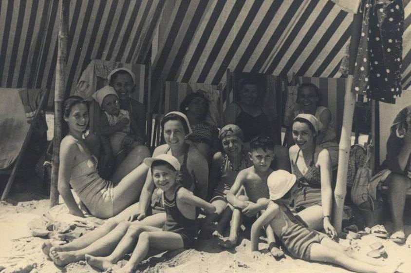 1950 - VISERBA - AL MARE CON MIA MAMMA