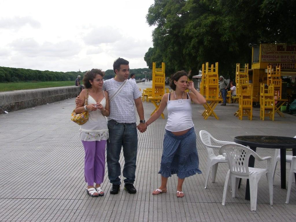 COSTANERA SUD - Cri, Martin, Yvonne