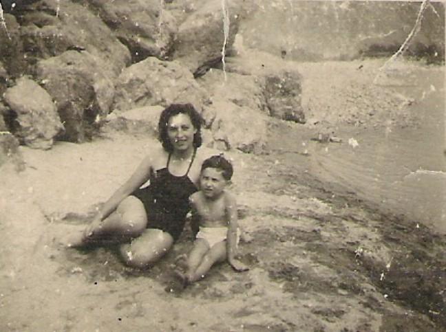 Con mamma al fiume Sesia