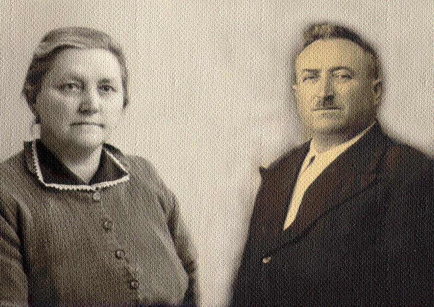 Nonna Maddalena Gho e nonno Barbonaglia Antonio