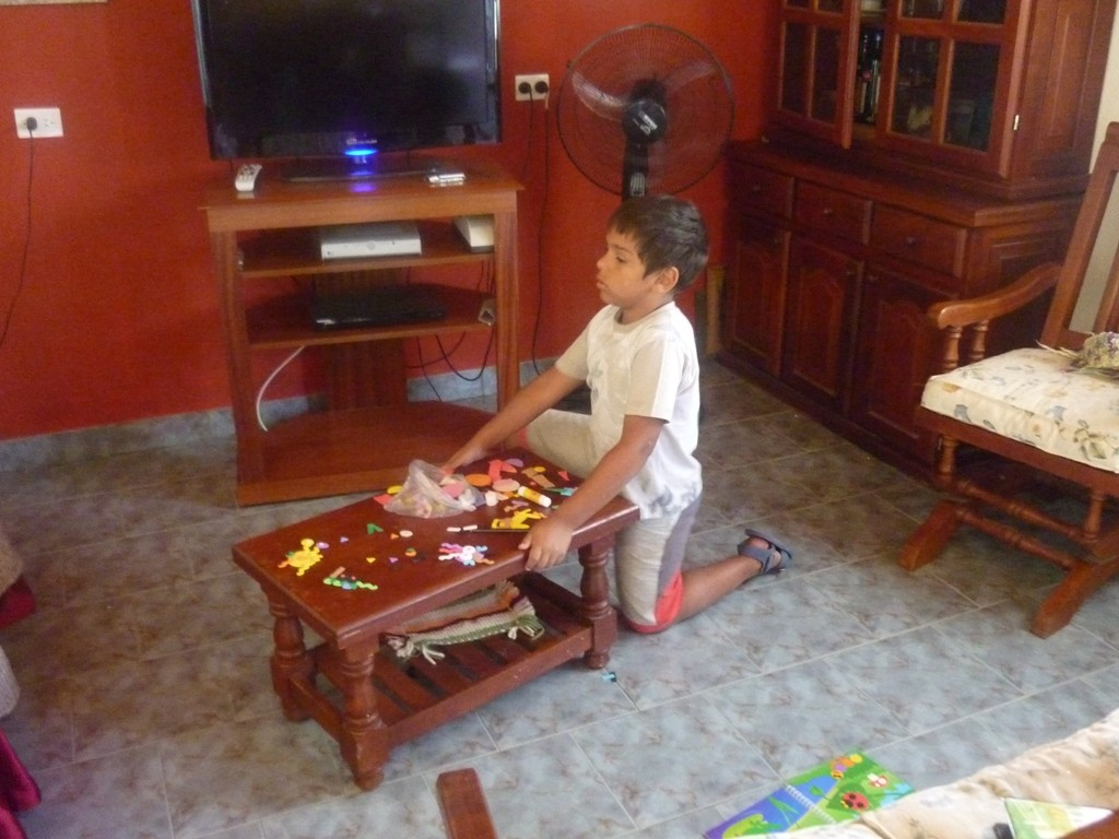 06.01.2012 - Chacra de Miriam y David, primos de Cristina