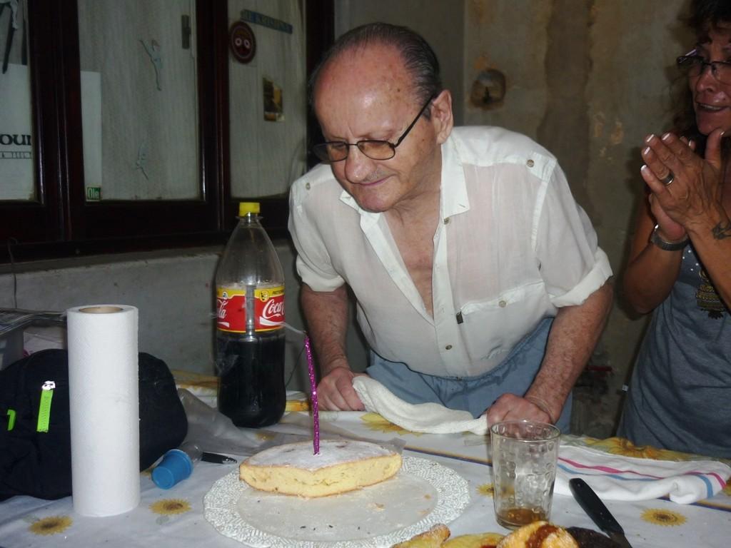 04.02.2012 - 83° cumpleaños del tío de Cristina, Alberto