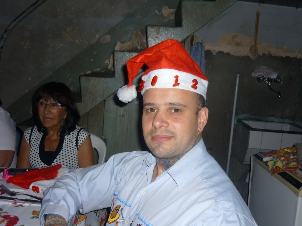 24.12.2011 - Cena della vigilia di Natale - Noche Buena - Christmas Eve = Nora y Claudio