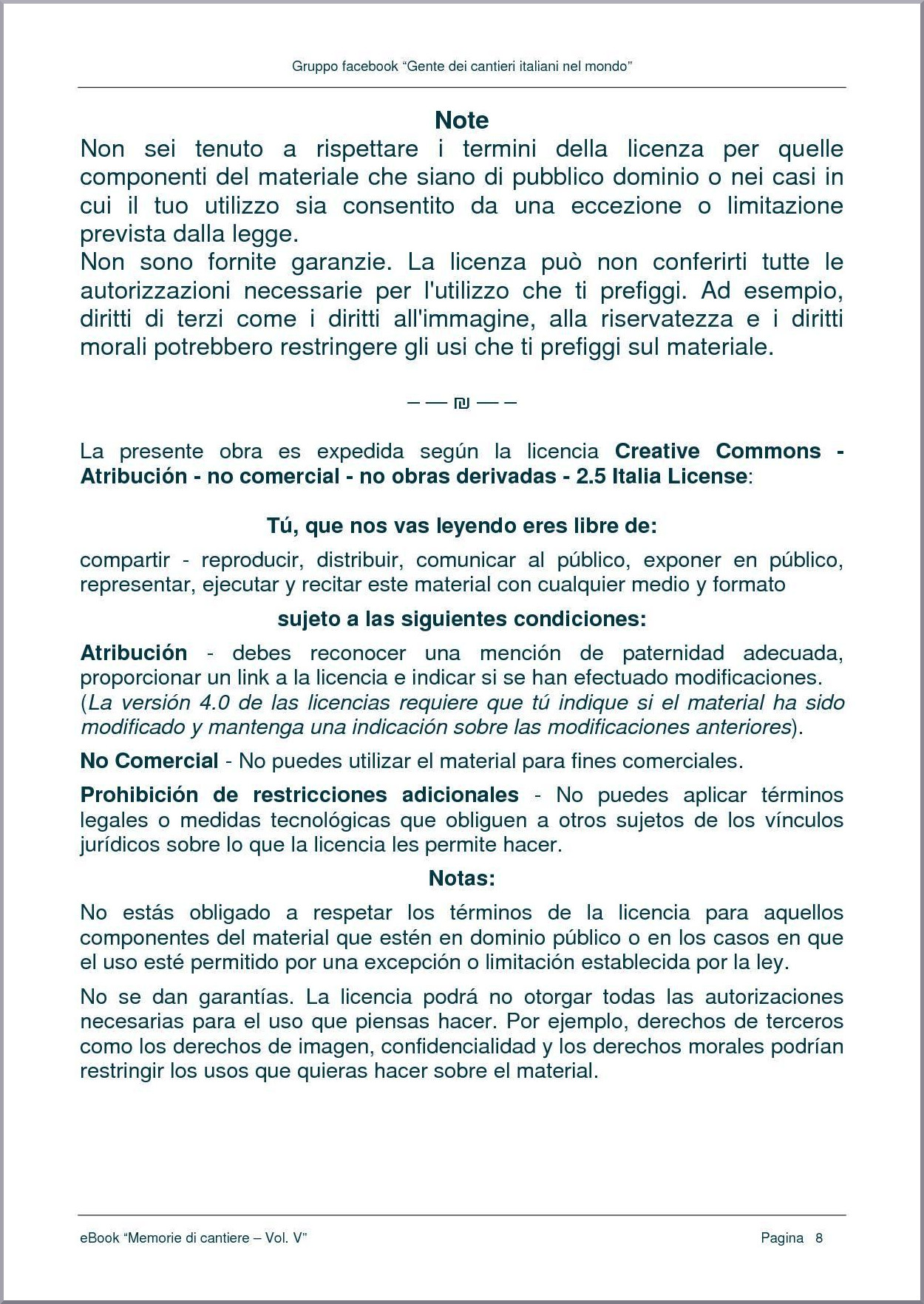 LICENZA CREATIVE COMMONS - pag. 2