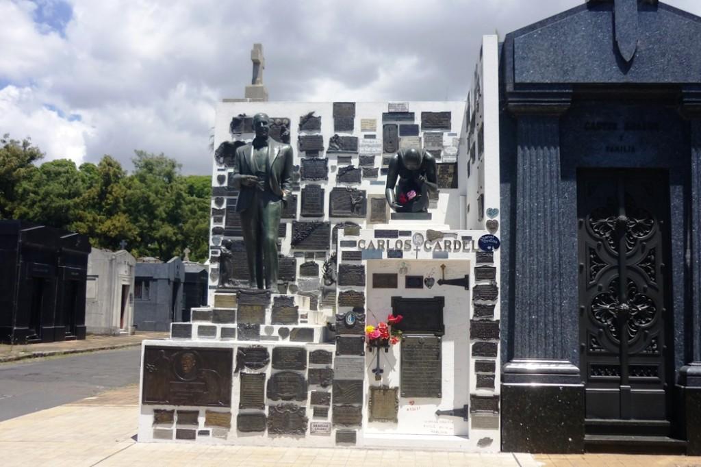 Cementerio monumentale del la Chacarita - Tomba di Gardel