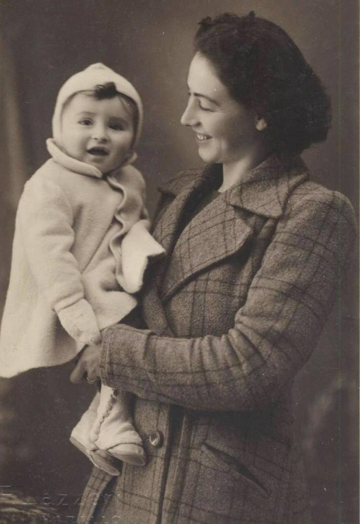 Con la mia mamma