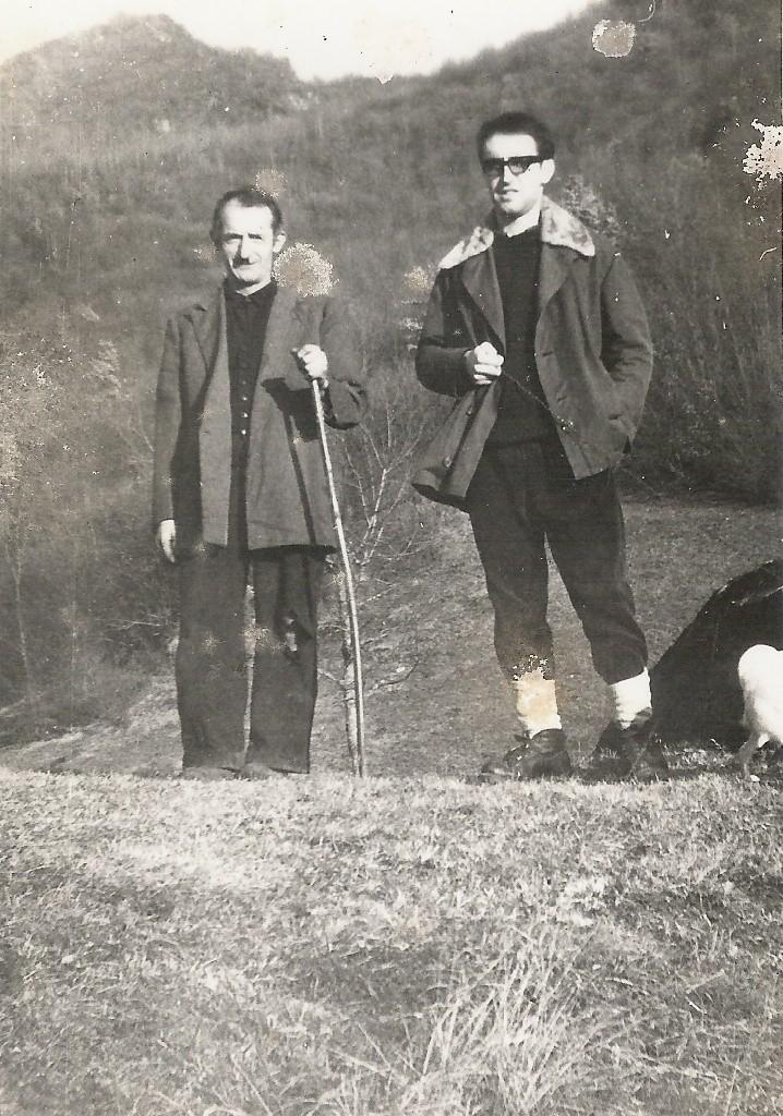 DICEMBRE 1965 A FALCONERA CON GIUAN