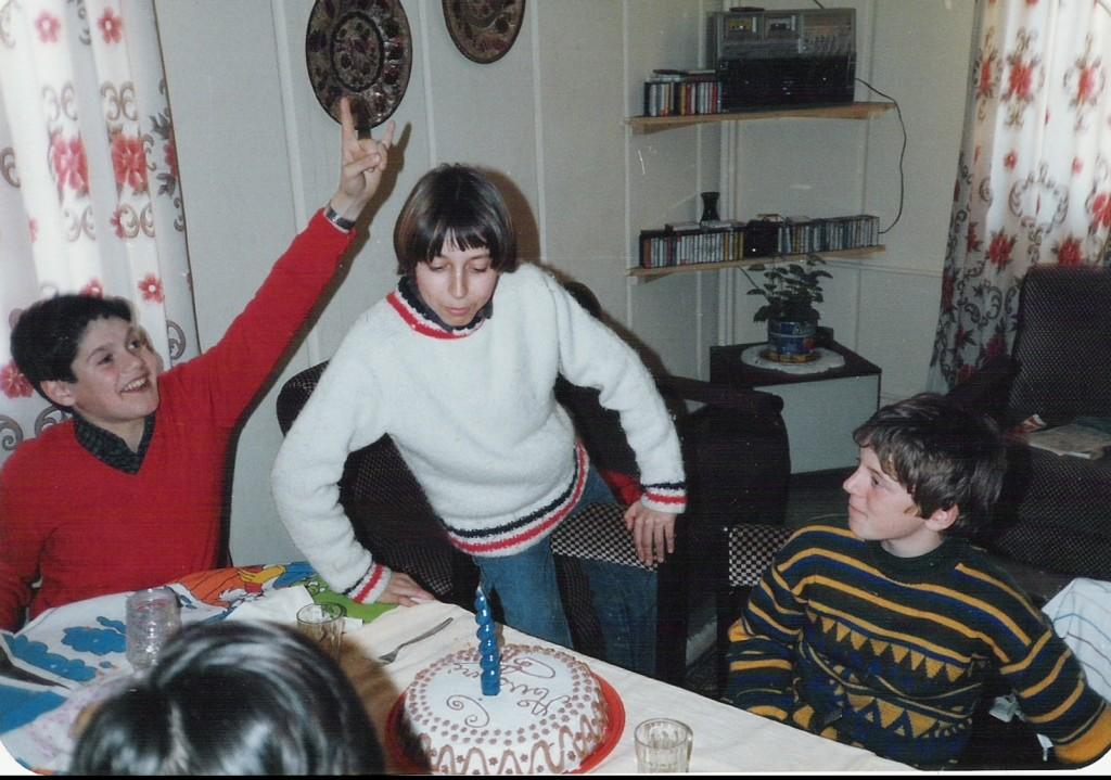 1985 - 13° COMPLEANNO DI DAVIDE