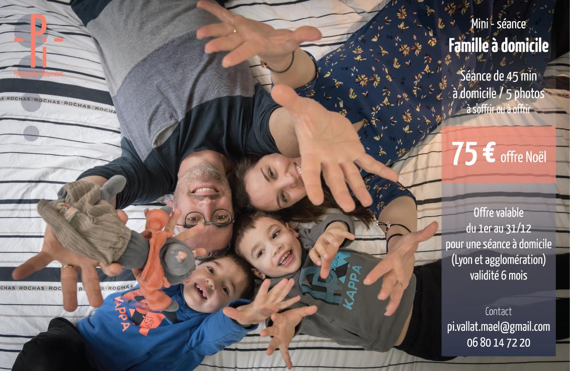 Mini séance famille à domicile