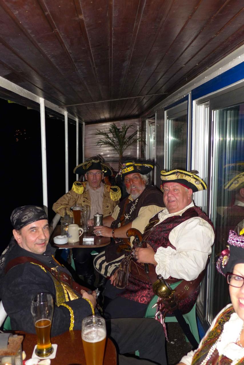 Flittarder Piraten an Bord