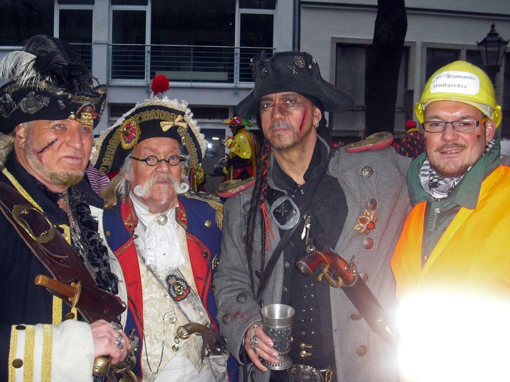 "... ein Pirat ""inkognito"""