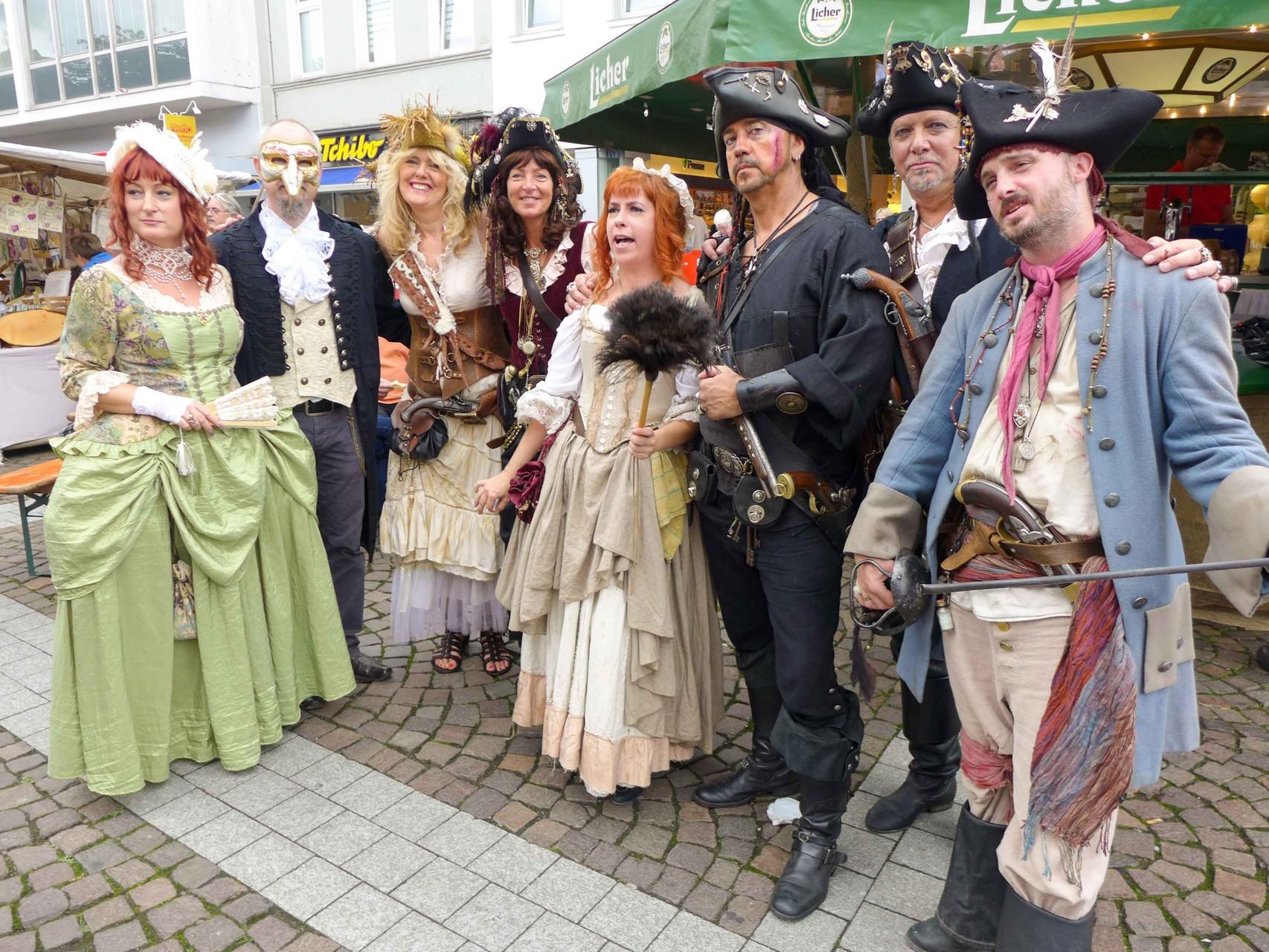 Piratige Grüße nach Wuppertal ...