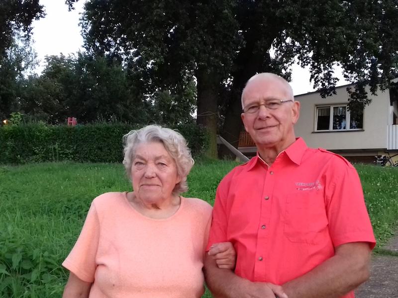 Gast des Sommerfestes, leidenschaftliche Kanutin der 50-60 Jahre - Frau Gerda Ott