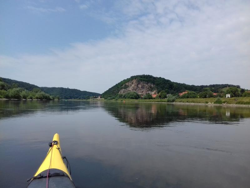 Die Elbe vor Meißen