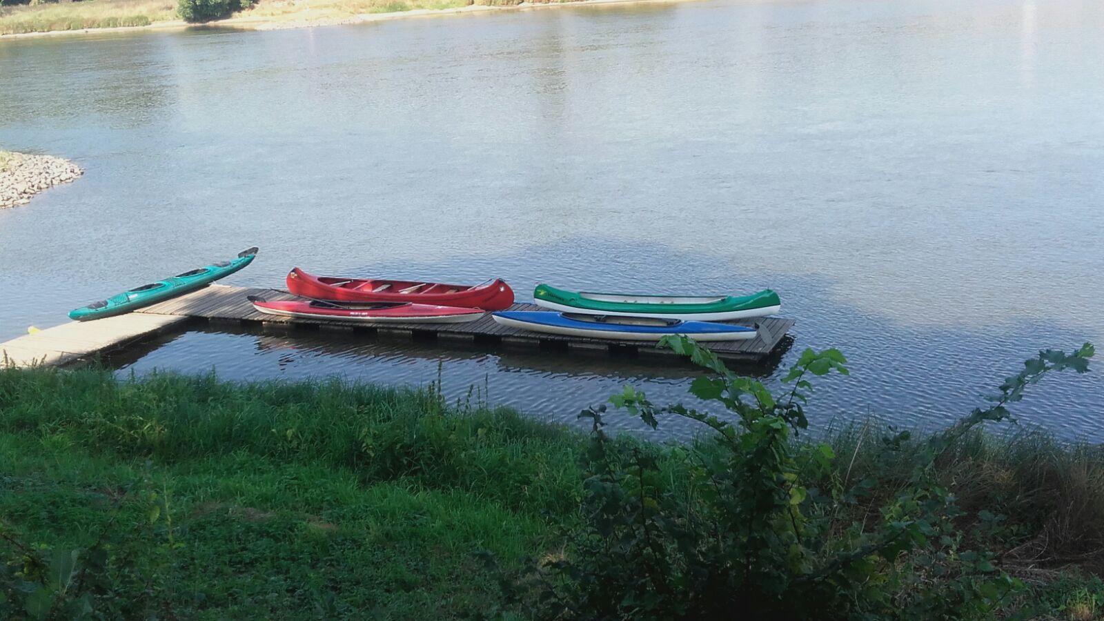 auch die Boote in Wartestellung