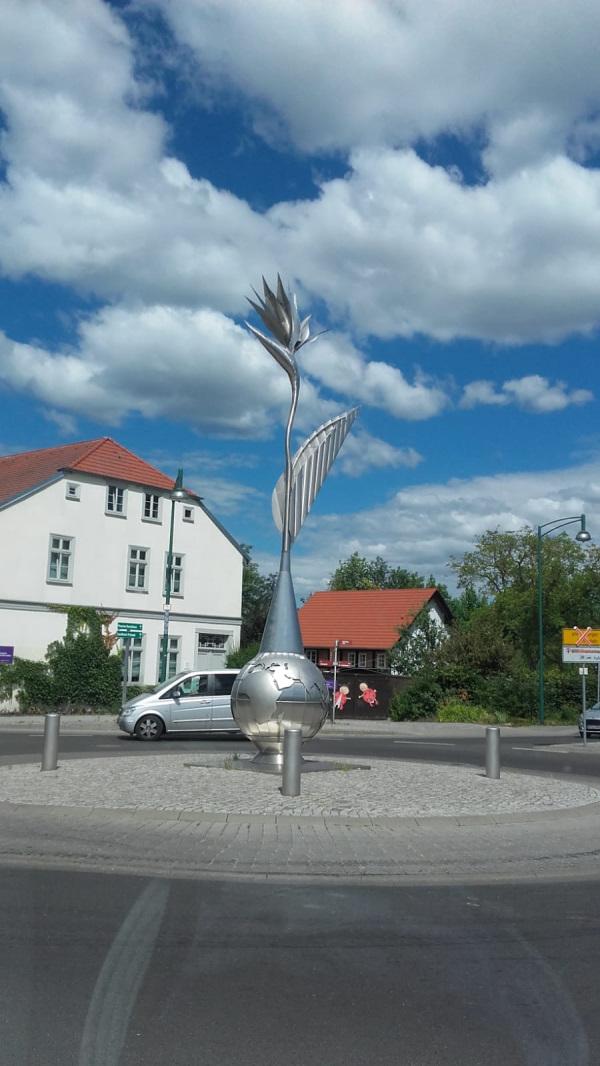Die Strelizie von Neustrelitz am Ausgangspunkt der Tour
