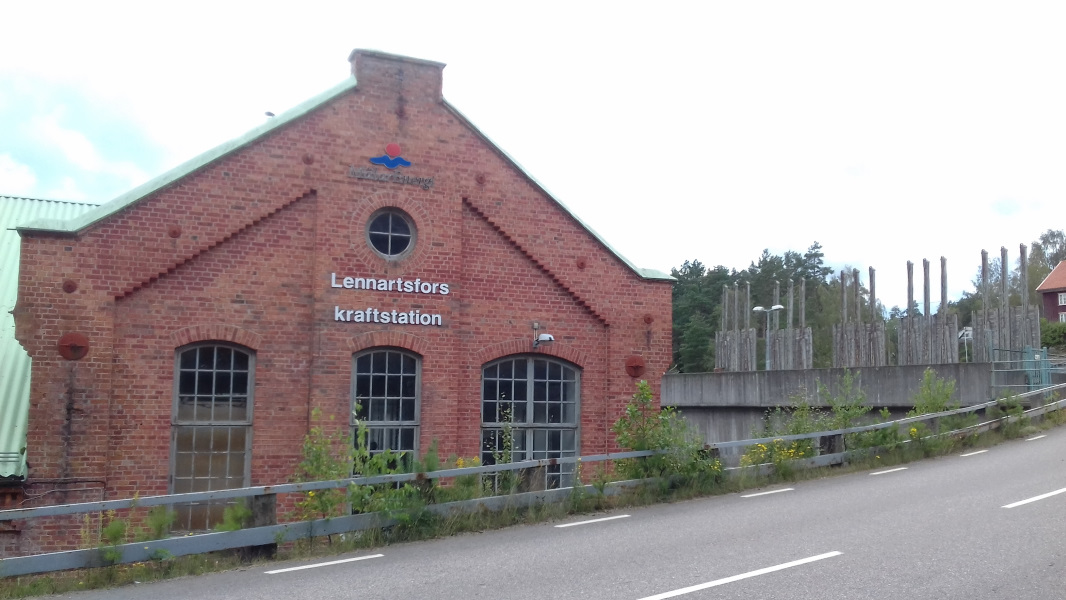 historisches Wasserkraftwerk