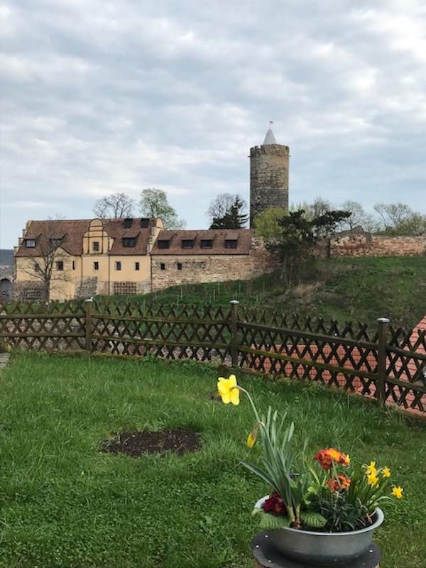 Die schöne Burg von Schönburg