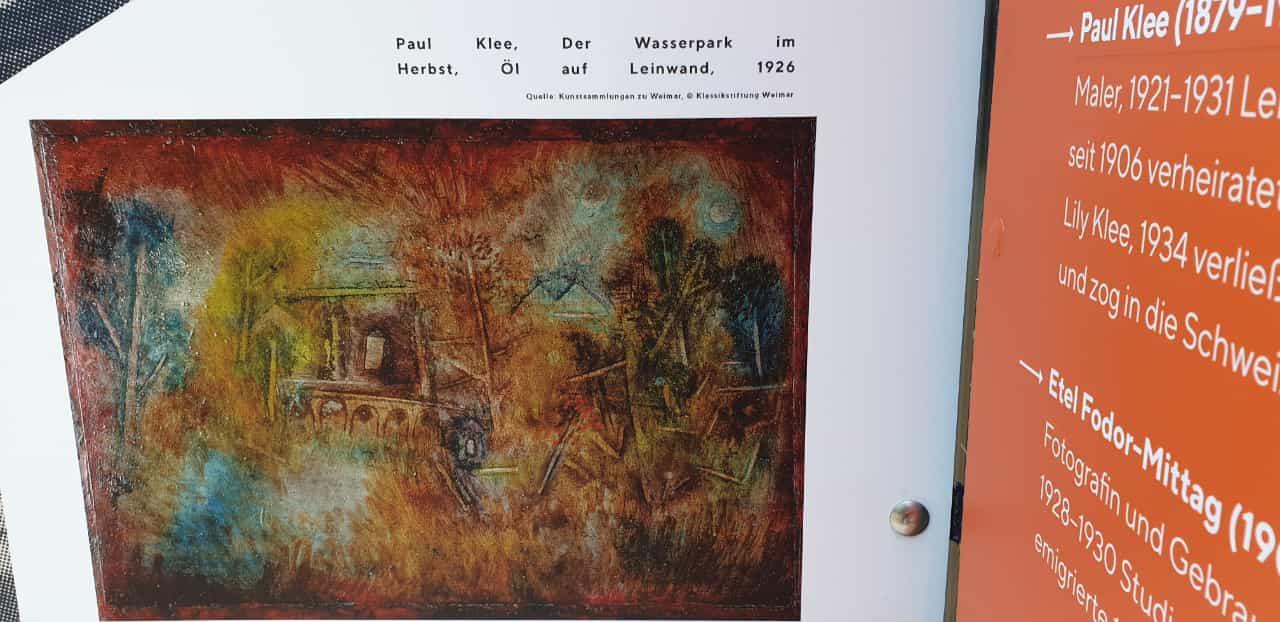 """Historische Kostbarkeit: """"Der Wasserpark im Herbst"""""""