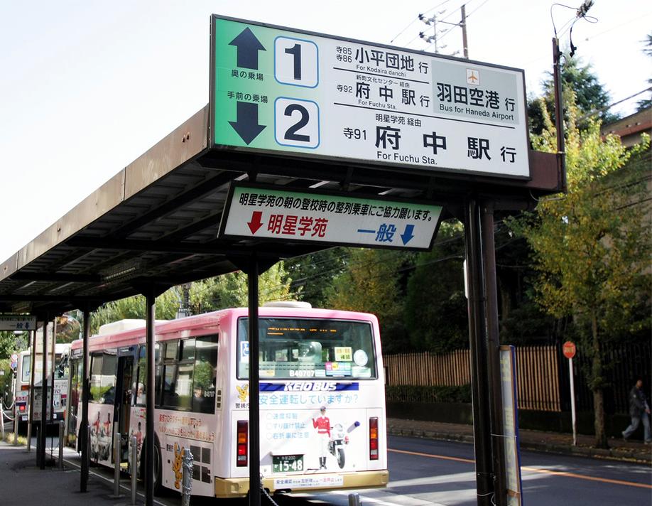 国分寺駅南口バス停