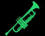 Trompeten und Cornet