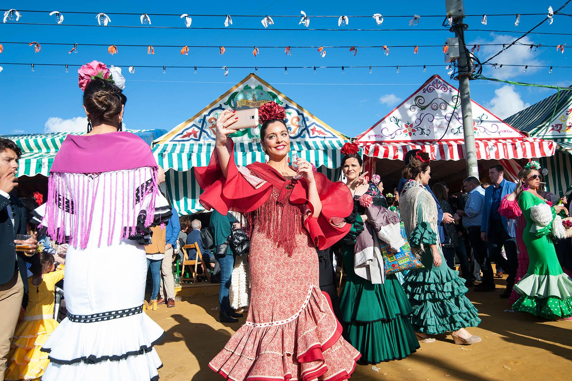 Seville Feria De Abril The April Fair Claudia Wiens