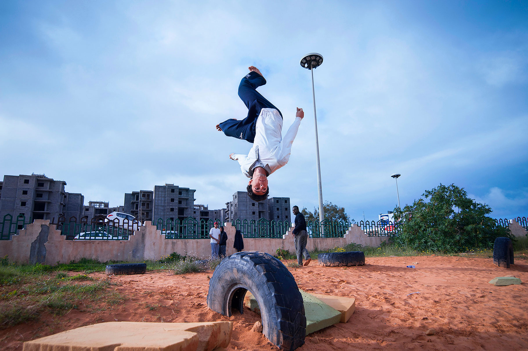 LIBYA: Breakdance and Parkour - Claudia Wiens Photography