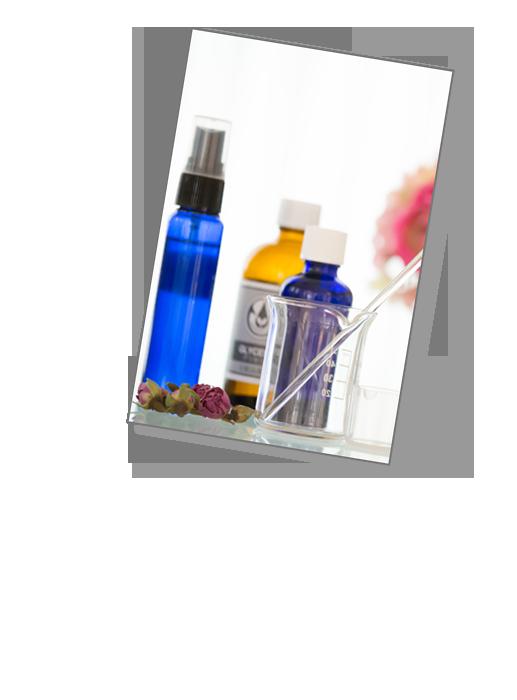 化粧水・美容液・ハンドクリーム・虫除けスプレーなど、無添加で安心・安全なものだけで作るアロマクラフト