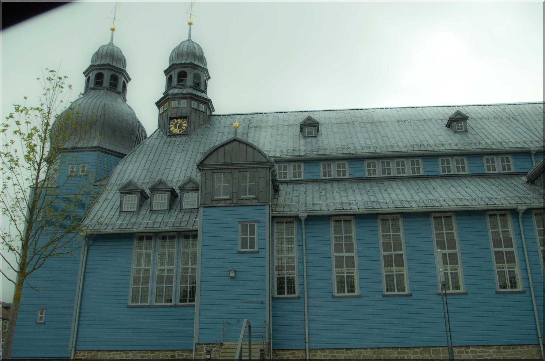Kirche in Clausthal Zellerfeld