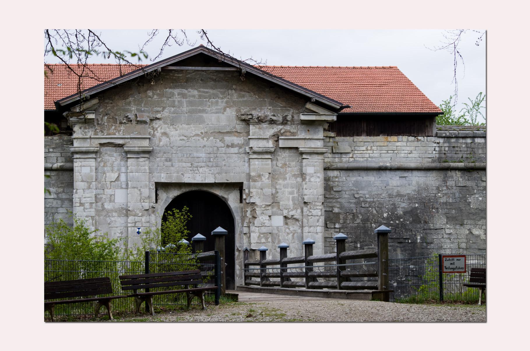 Eingang zur Feste Rothenberg