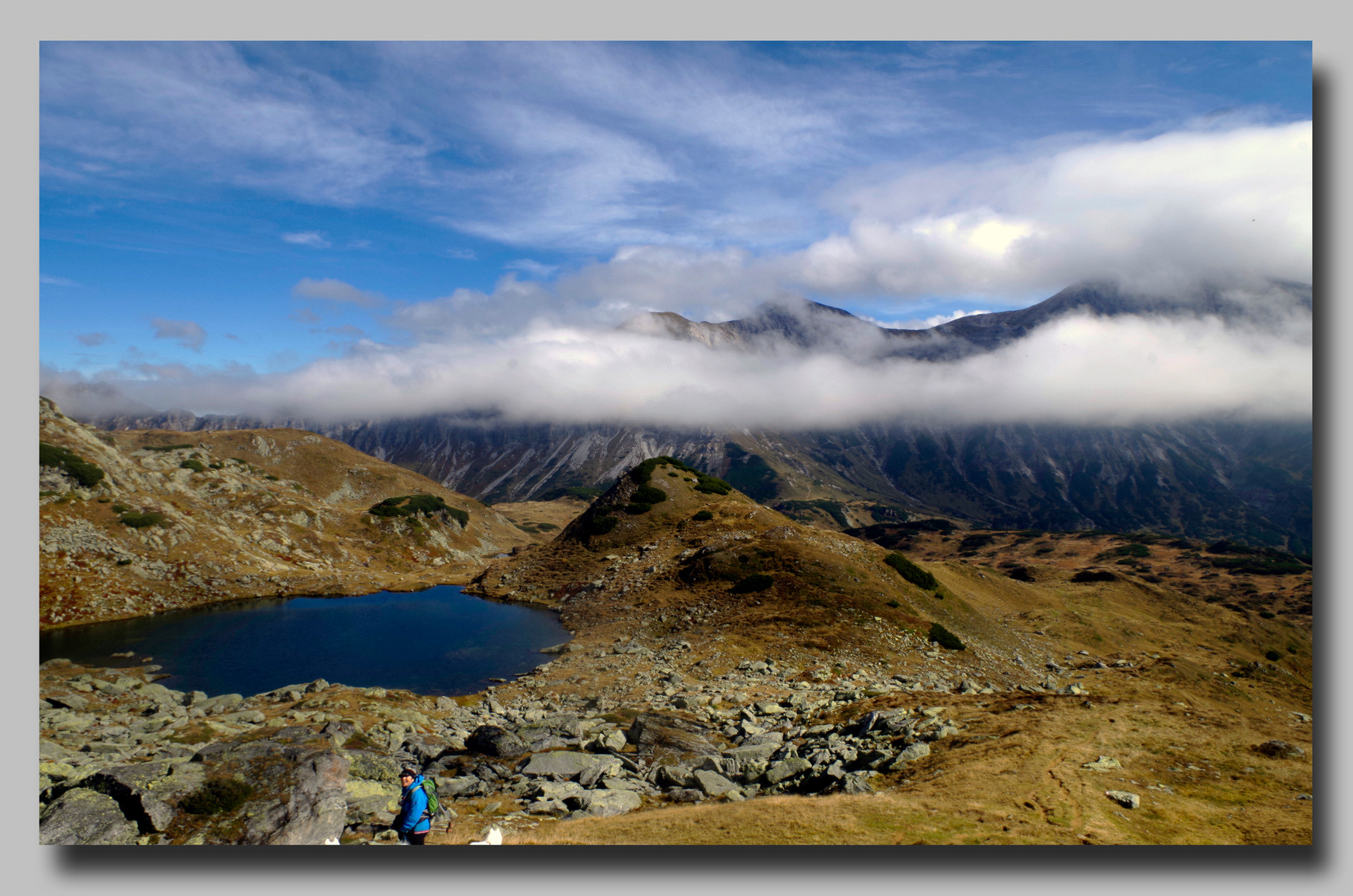 Wunderschönes Bergpanorama