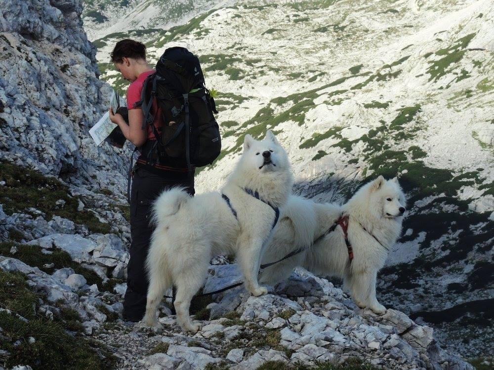 in den Julischen Alpen unterwegs