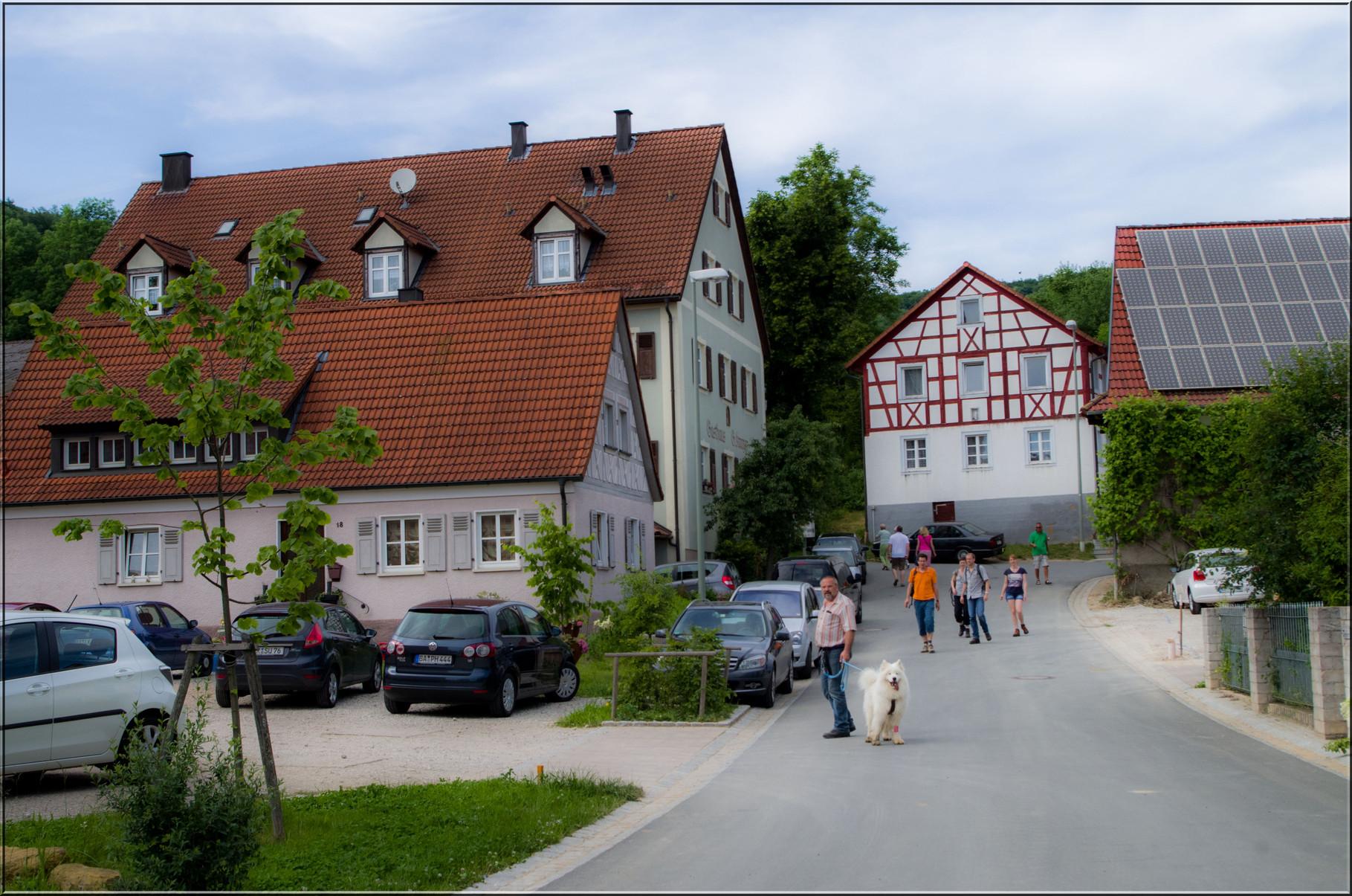 Fränkische Fachwerkhäuser in Ketschendorf