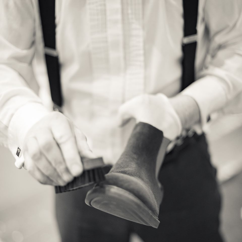 Schuhaufbereitung
