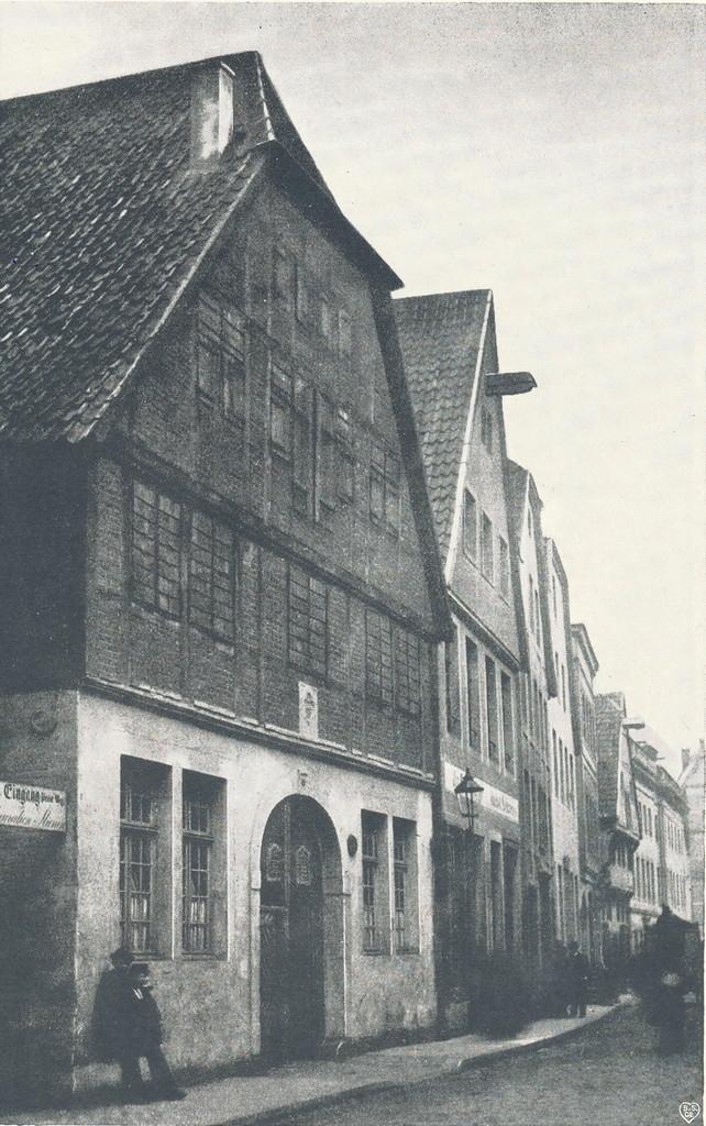 Ackerbürgerhaus in der Salzstraße - Geisberg Band 4 (Sammlung Hötte)