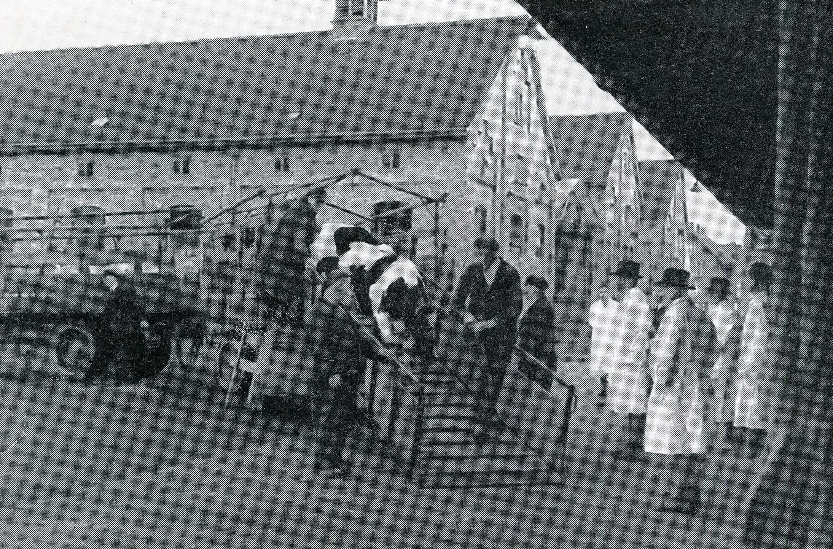 Schlachthaus um 1930