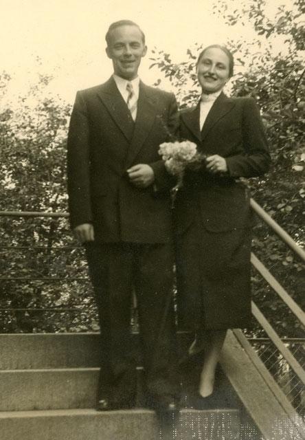 Das glückliche Paar - Standesamt 1953