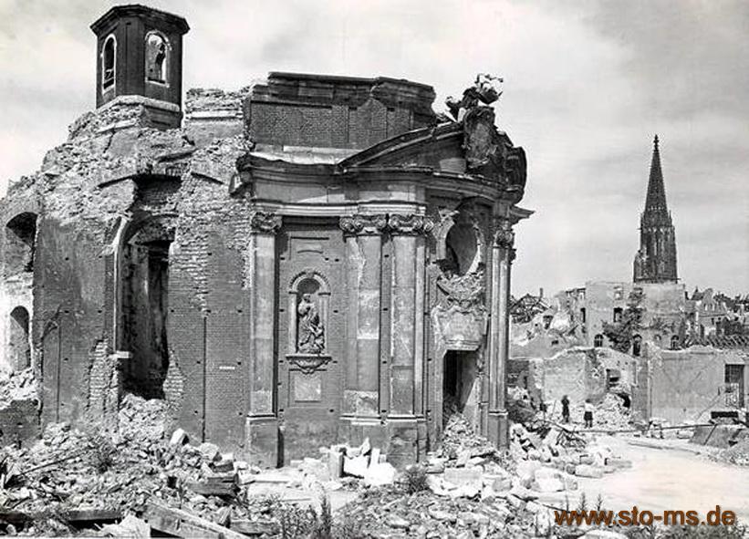 Die zerstörte Clemenskirche