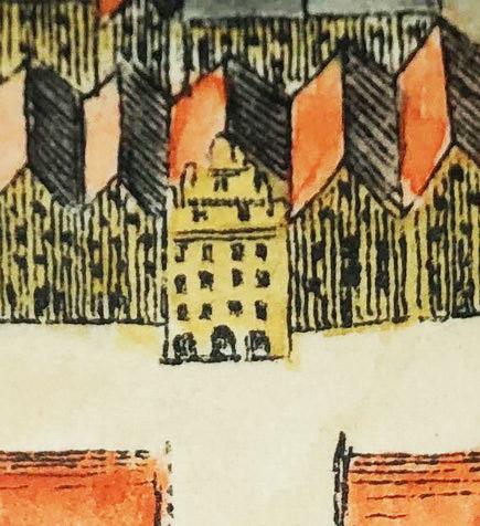 Ausschnitt Alerdink-Plan von 1636