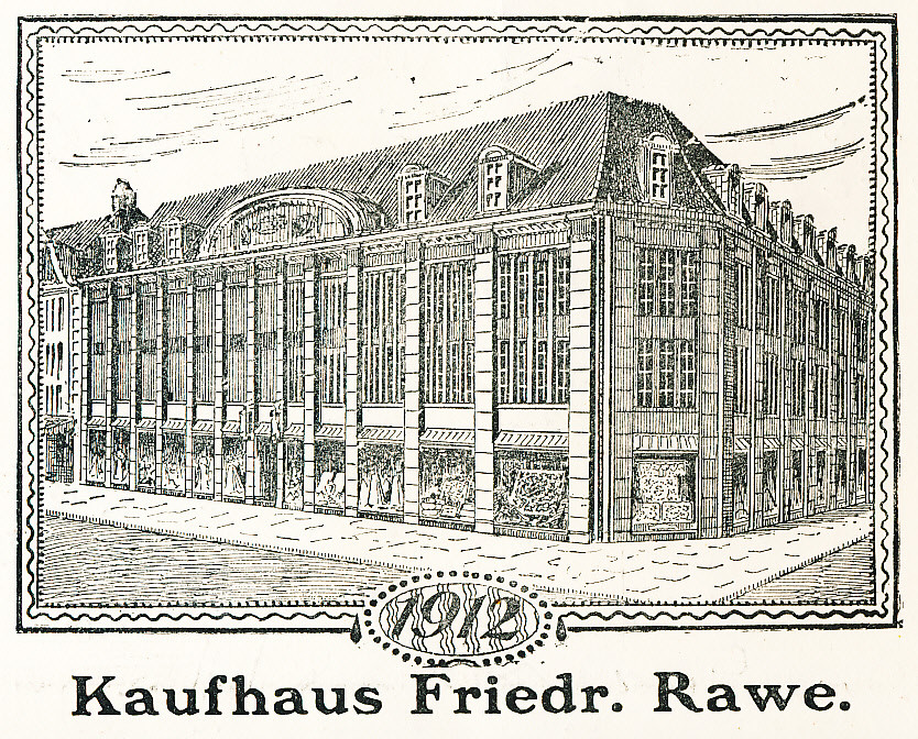 Kaufhaus Rawe, später Möbel-Althoff, heute u.a. Stadtmuseum