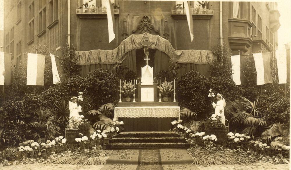 Hansa-Haus - Fronleichnam 1940er Jahre