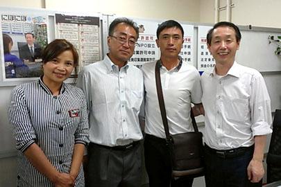 経営管理ビザ申請が許可された新潟市在住の中国人さん