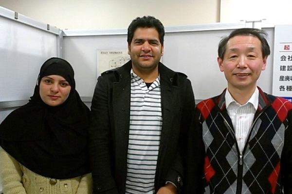 日本在留ビザが許可された中東のご夫婦【新潟】