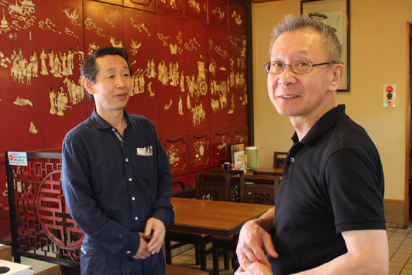 新潟で中華料理店を経営されてるご主人と